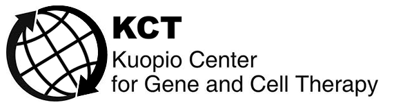 KCT Kuopio Center for Gene and Cell therapy logo